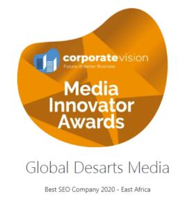 Best SEO Company In East Africa Award