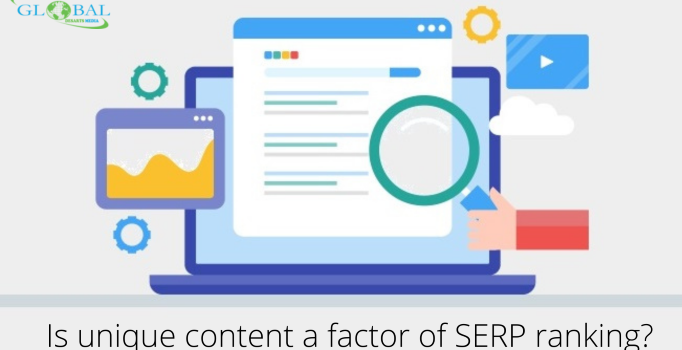 Is unique content a factor of SERP ranking?